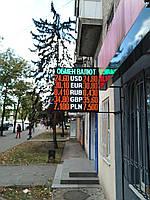 Табло обмен валют (1000х1000, 3 валюты)