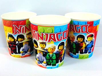 """""""Лего Ниндзяго: Красный"""" - Стаканчики 250 мл."""