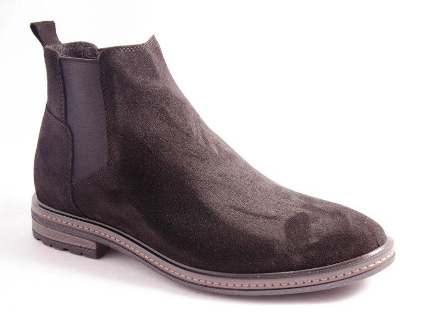 Ботинки мужские черные Romani 4672515 р.40-45
