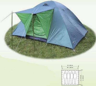 Палатка Holiday EIGER 4  (H-1004)