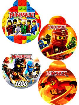 """""""Лего Ниндзяго: Красный"""" - Медальки"""