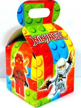 """""""Лего Ниндзяго: Красный"""" - Бонбоньерки 10/10/12 см"""
