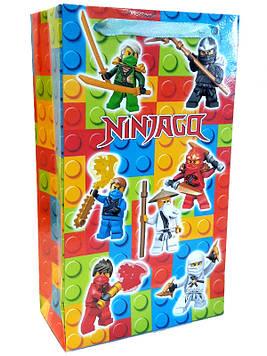 """""""Лего Ниндзяго: Красный"""" - Пакет бумажный 21/12/6 см"""