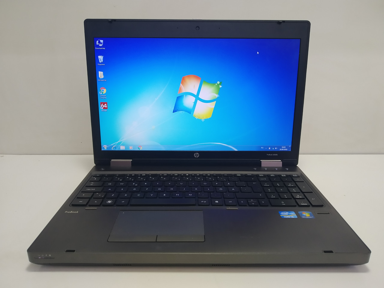 "15.6"" HP Probook 6560b \ Intel i5 2410m 4gb\ 320gb comport Бат до 4\ НЕ США\ Металл"