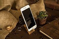Креативный карманный аксессуар для смартфонов планшетов, Подставка холдер из дерева в подарок мужу с логотипом