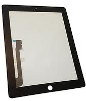 Сенсорный экран со стеклом для Apple iPad3, iPad4, черный