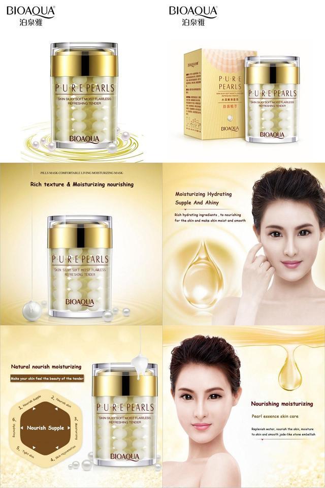 BIOAQUA Pure Pearls Cream