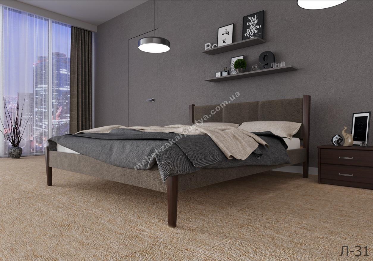 Кровать деревянная Л-31