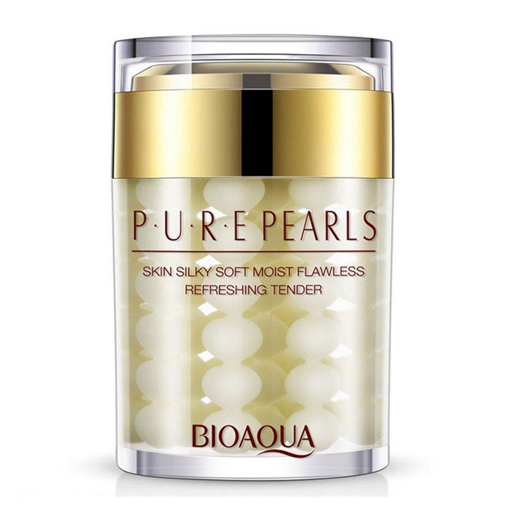 Крем для шелковистости кожи с экстрактом жемчуга BIOAQUA Pure Pearls Cream