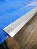 Лопата-скрепер снеговая. 45х80см размер ковша. Для уборки снега.С роликами, фото 2