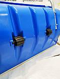 Лопата-скрепер снеговая. 45х80см размер ковша. Для уборки снега.С роликами, фото 3