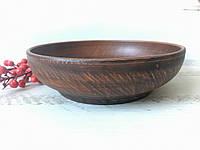 Миска из красной глины 1,3 л, фото 1