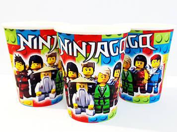 """""""Лего Ниндзяго: Белый"""" - Стаканчики 250 мл."""