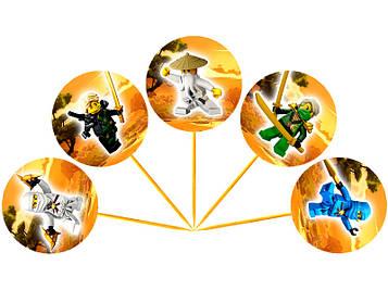 """Лего Ниндзяго: Белый"" - Топперы"