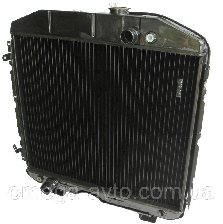 Радіатор водяний 3-х рядний ГАЗ 66 (вир-во ПРАМО)