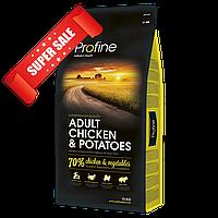 Сухой корм для собак Profine Adult Chicken & Potatoes 15 кг