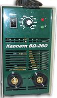 Инвертор сварочный Карпаты ВД-260