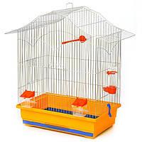 Клетка для попугая Лори (470х300х620) мм цинк