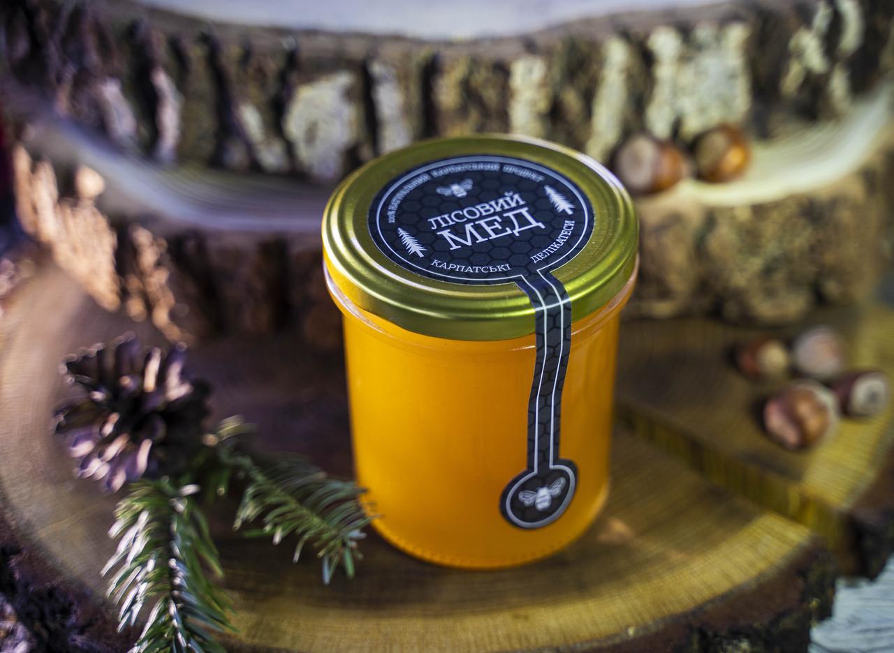 Мед лісовий 350мл
