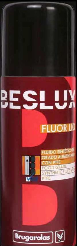 BESLUX FLUOR LIQ SPRAY (аэрозоль 520 мл) масло высокотемпературное с тефлоном, пищевой допуск NSF H-1