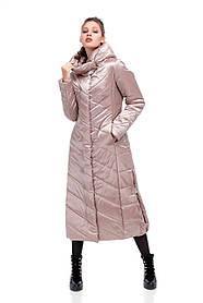 Модне зимове подовжене пальто Розміри 42-54