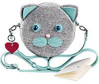 Детская фетровая сумка Blanknote Miss Kitty