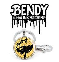 Брелок BENDY и пентаграмма Бенди и Чернильная Машина / Bendy and the Ink Machine