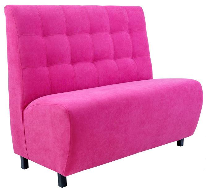 Диван Симпл 120 см розовый
