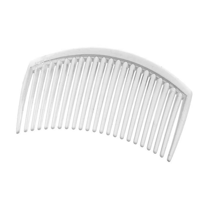 Гребешок-основа пластиковый, прозрачный, 8.5 см