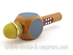 Karaoke Wster WS-1816 беспроводной караоке микрофон, золотой, фото 3