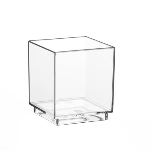 Пиала прозрачная стекловидная 4,7*4,2*4,2 см, 30 шт