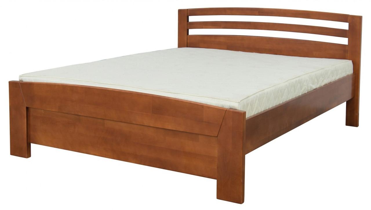 Ліжко дерев'яна Меблі-Сервіс «Рондо 1600»