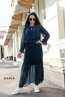 Платье женское красивое длинное из шифона в стиле бохо Smch3448