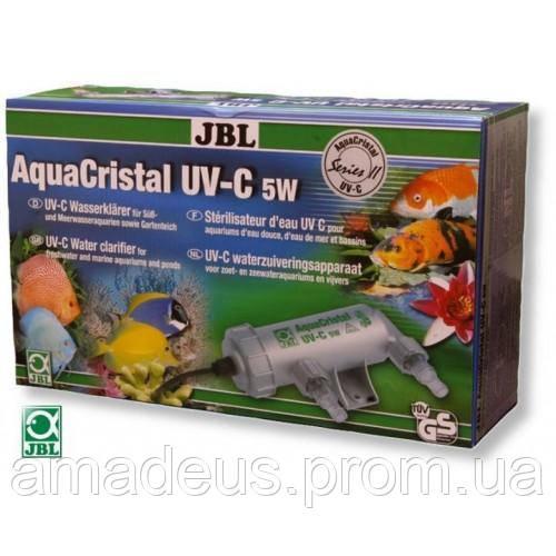 Jbl Ультрафиолетовый стерилизатор Aquacristal Uv-C, 5 Вт.