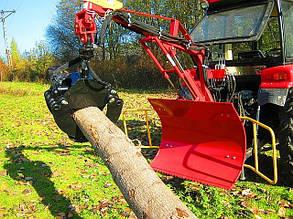 Манипулятор для погрузки древесины