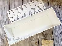 Коробка для вина Капсула времени с гвоздиками (белая), фото 4