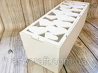 Коробка для вина Капсула времени с гвоздиками (белая), фото 3