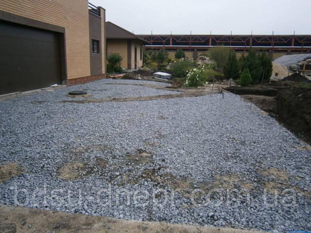 Подготовка площадки к бетонированию
