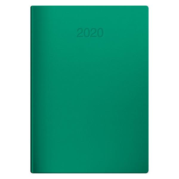 Ежедневник датированный BRUNNEN 2020 Стандарт Flex зеленый