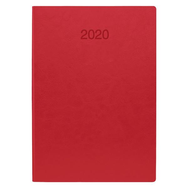 Ежедневник датированный BRUNNEN 2020 Стандарт Flex, коралловый