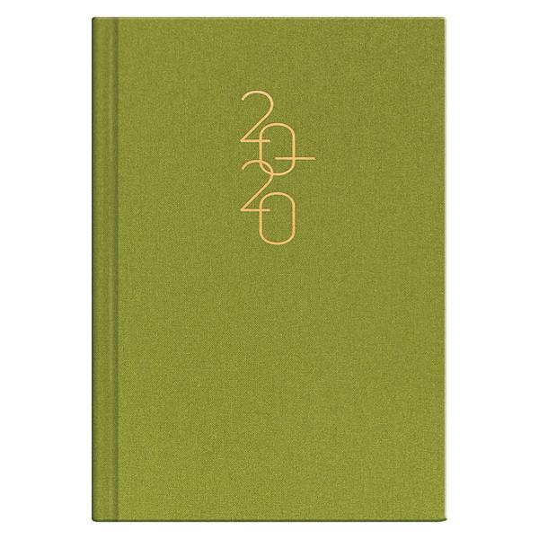 Ежедневник датированный BRUNNEN 2020 Стандарт Glam светло-зеленый