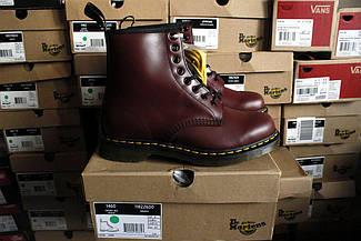 Dr. Martens 10072600-1460 Cherry Red, Bordo, мартенси, мартіна, мартенс, ORIGINAL.