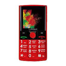 Телефон Sigma Comfort 50 Solo Red