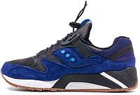 Мужские кроссовки Saucony Grid 9000 синего цвета