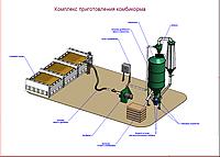 Комбикормовая установка для приготовления комбикорма Neuero