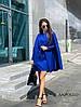 Потрясающий костюм двойка: платье с кейпом, креп-костюмка. Размер: С,М. Разные цвета (453), фото 5
