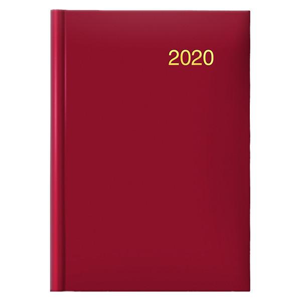Ежедневник датированный BRUNNEN 2020 Стандарт Miradur Trend красный