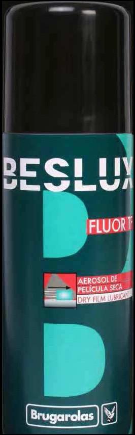 BESLUX FLUOR TF SPRAY (аэрозоль 520 мл) разделительная смазка с тефлоном