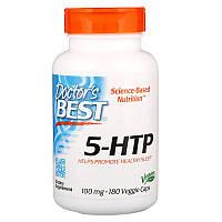"5-гидрокситриптофан Doctor's Best ""5-HTP"" 100 мг (180 капсул)"