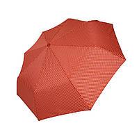 Механический  зонт в горошек SL, коралловый цвет, 35013-5
